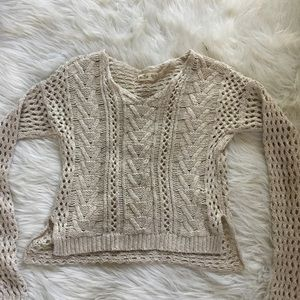 Hollister Soft Knit Long Sleeve Sweater XS/S
